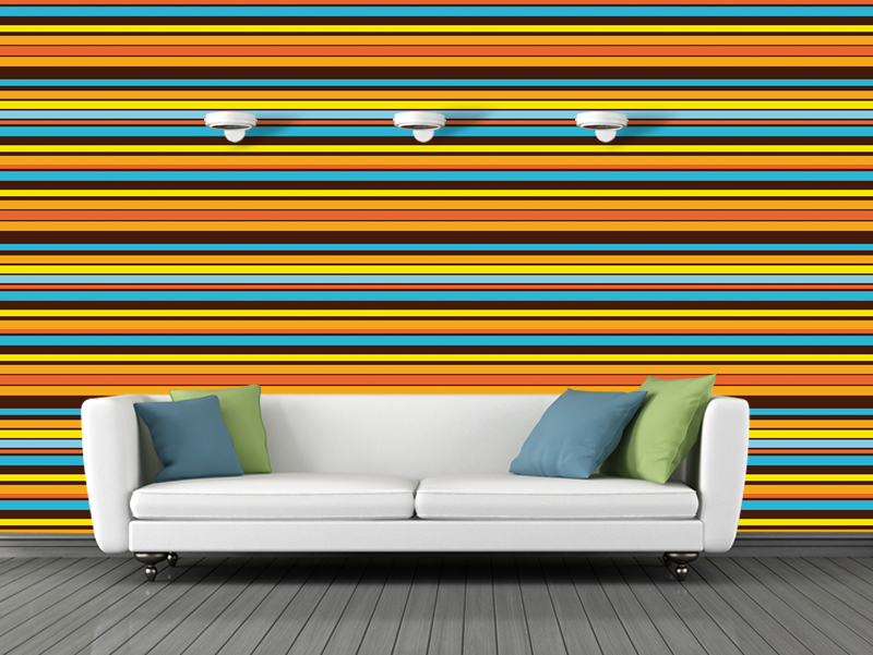 Papel de Parede HP Deco Stripes Horizontal