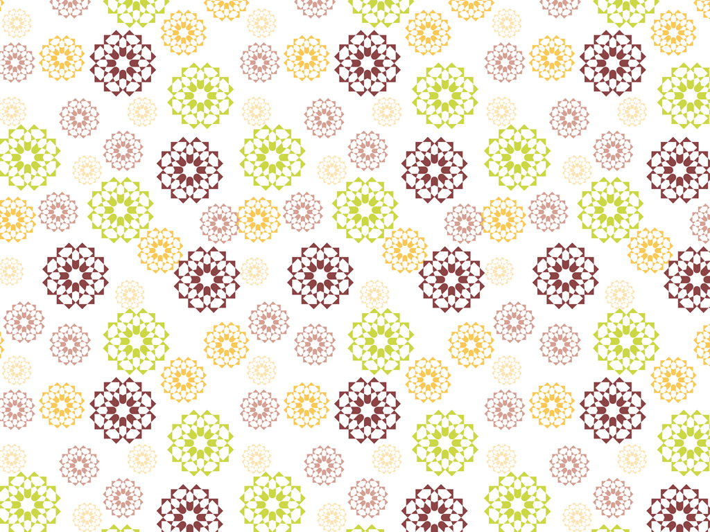 Papel de Parede HP Forest Geometric Flower